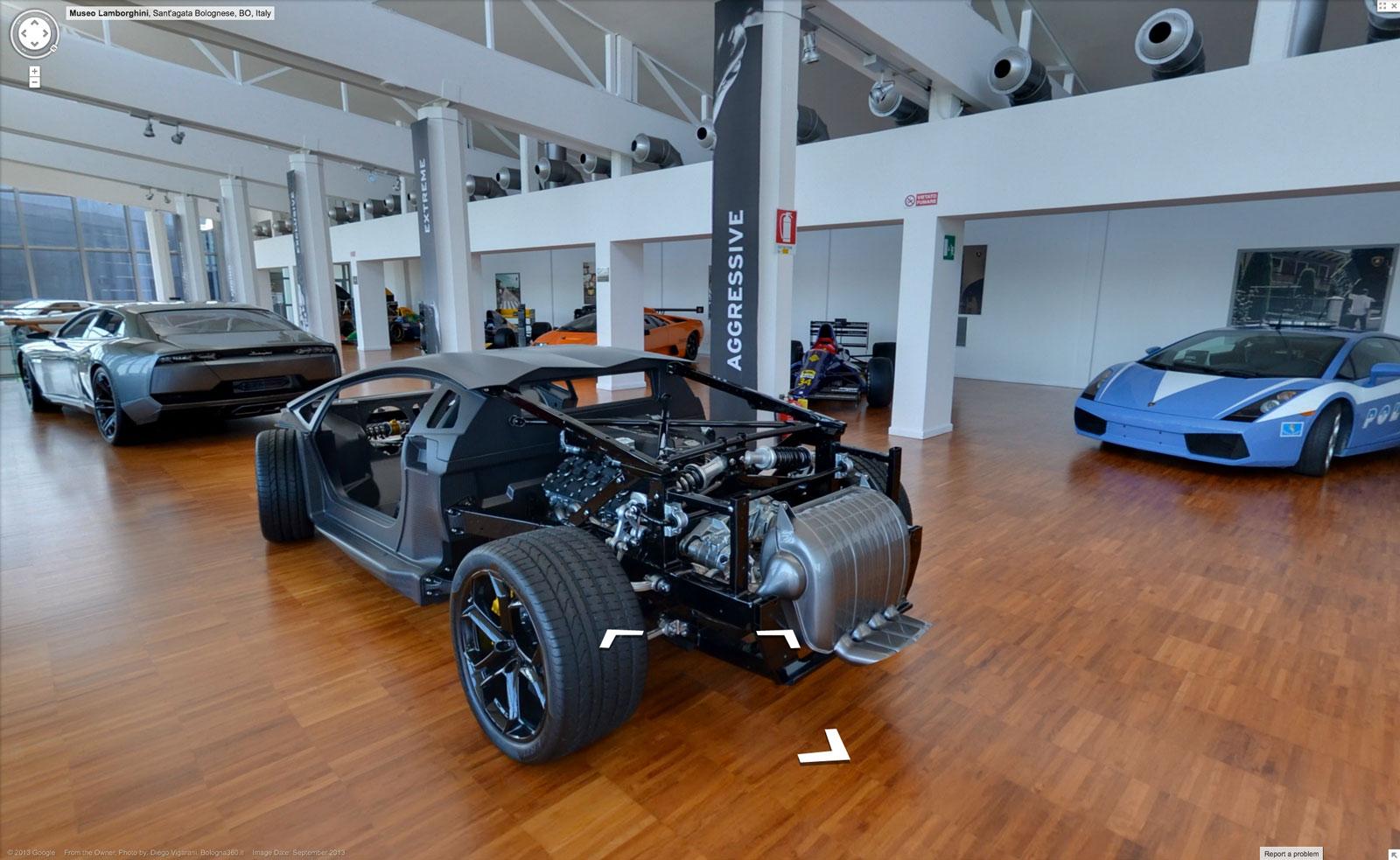 lamborghini museum virtual tour - car body design