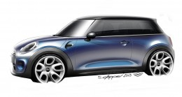 The new MINI - Design Sketch