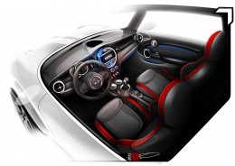 The new MINI - Interior Design Sketch