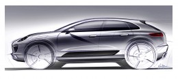 Porsche Macan - Design Sketch