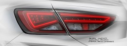 SEAT Leon ST - Tail Lamp Design Sketch
