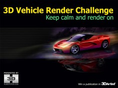 3D Vehicle Render Competition