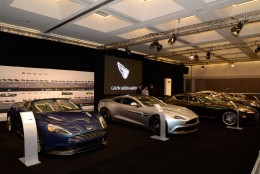 Aston Martin at the 2013 Los Angeles Auto Show