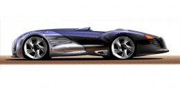 Hot Wheels Concept Design Sketch by Harald Belker