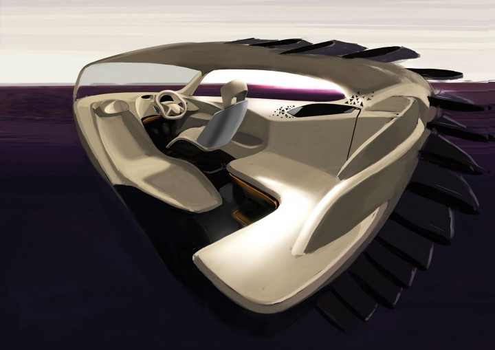Mahindra concepts by ied design gallery car body design for Ied interior design