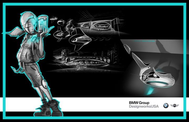 la design challenge 2013 l a subways by bmw group designworksusa car body design. Black Bedroom Furniture Sets. Home Design Ideas