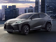 Lexus presents turbocharged LF-NX Concept