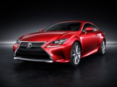 Lexus unveils the RC coupé