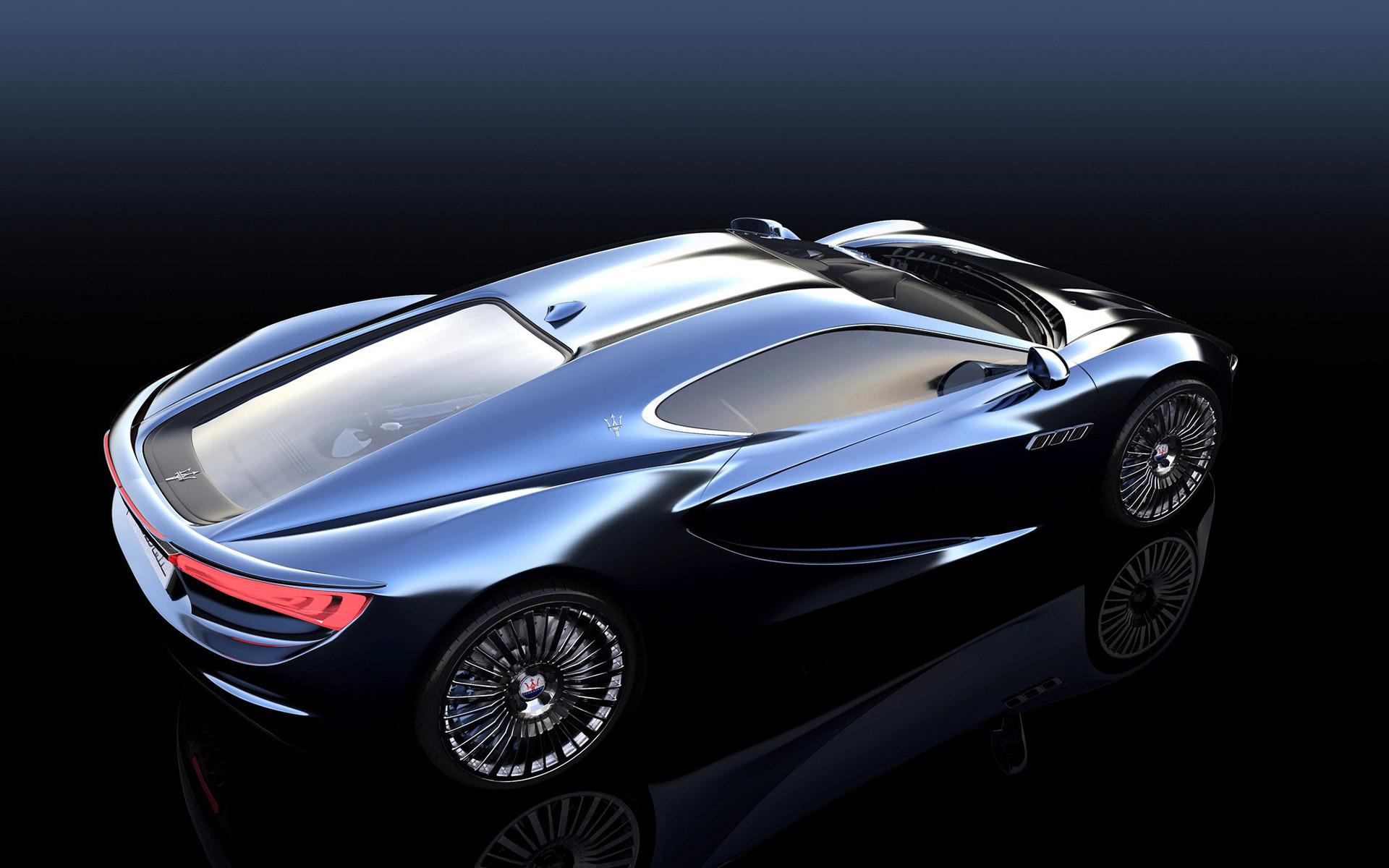 Maserati Bora Concept by Alexander Imnadze - Car Body Design