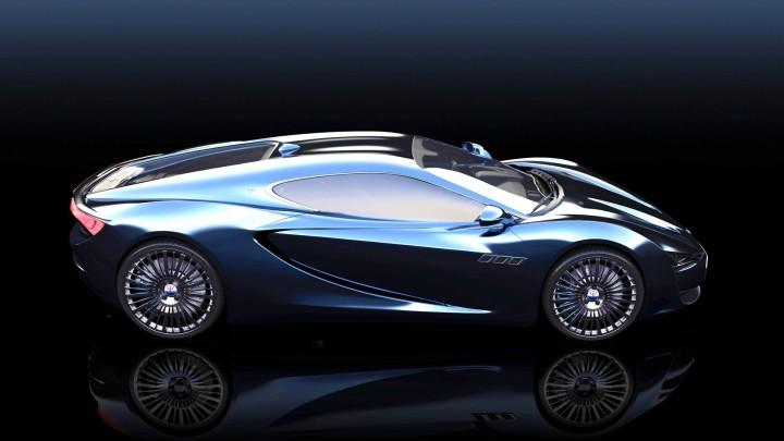 Maserati Bora Concept - Car Body Design