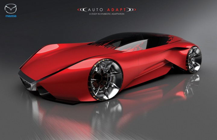 Mazda Furai Vehículos Supercars Hd Fondos De Pantalla: LA Design Challenge 2013: Mazda Auto Adapt Concept