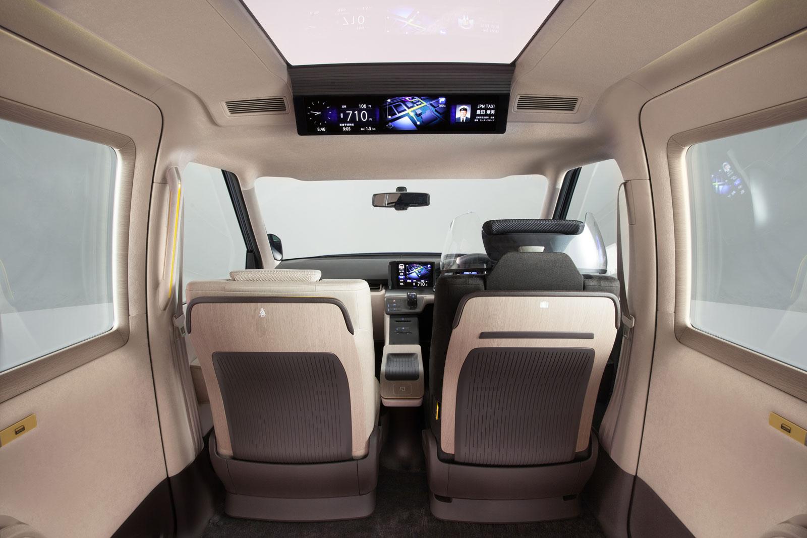 Toyota jpn taxi concept interior car body design for Interieur concepts