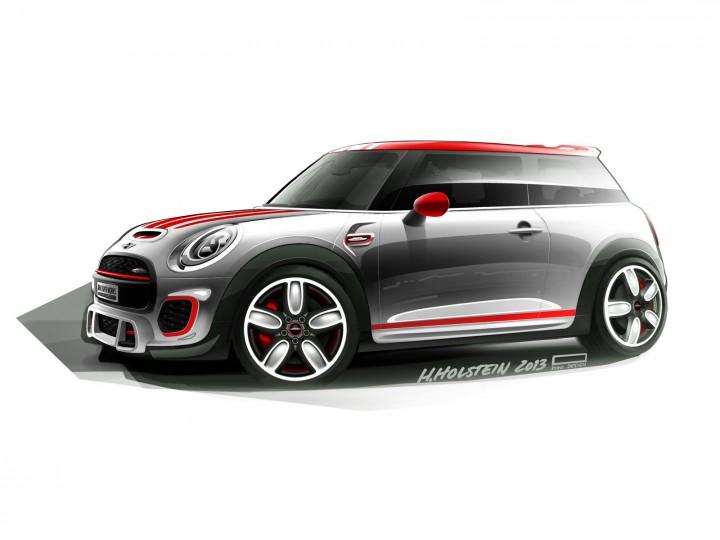 Mini John Cooper Works Concept Car Body Design