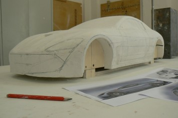 Maserati Alfieri - Scale model construction