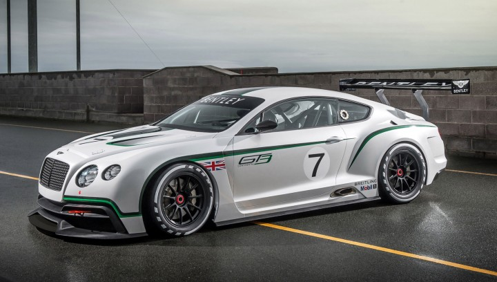 Bentley GT3 - one of David Hilton's projects at Bentley