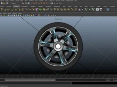 Car wheels instancing in Maya