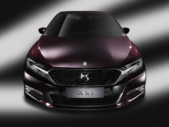Citroën DS 5LS: designed for China