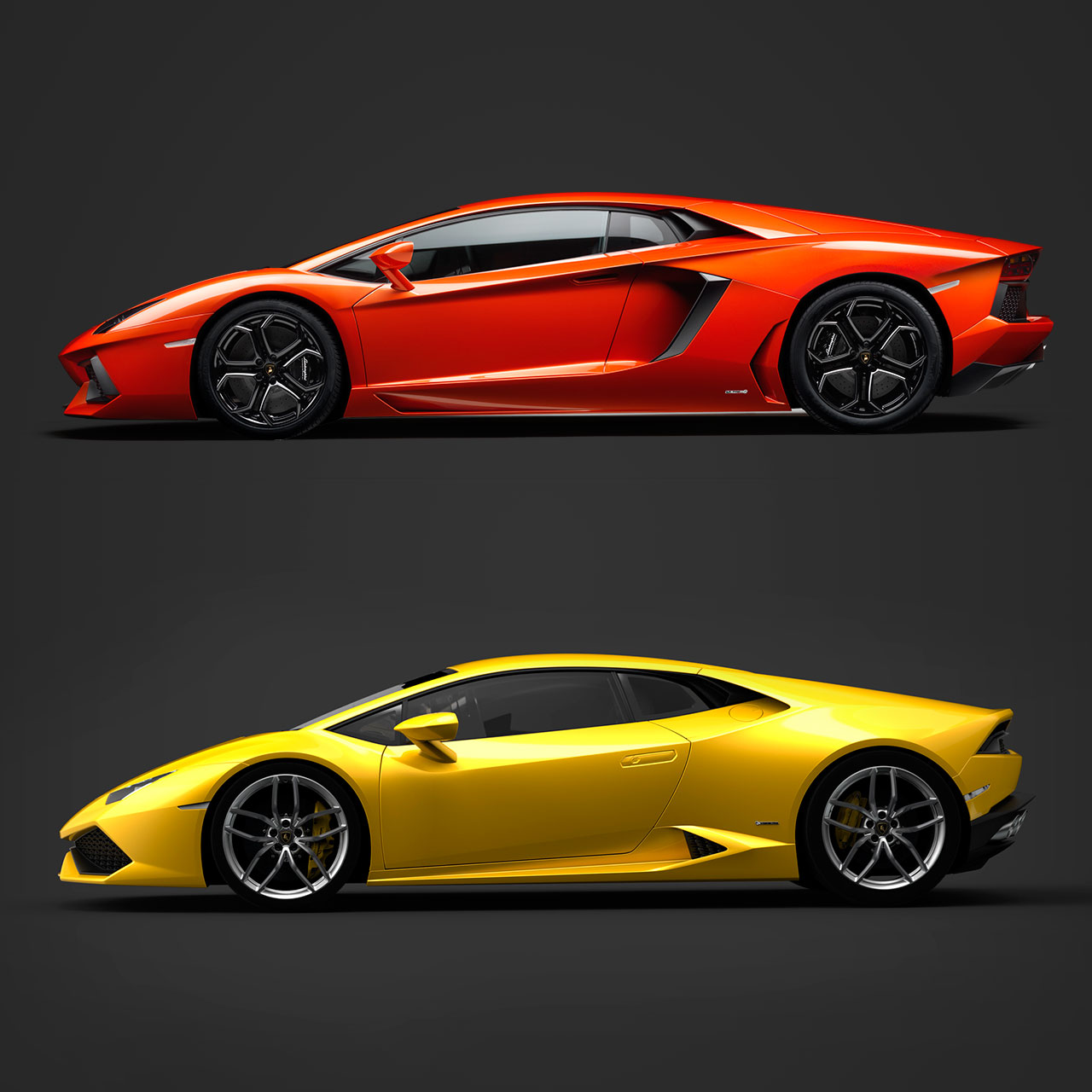 lamborghini aventador and huracan design comparison car body design. Black Bedroom Furniture Sets. Home Design Ideas