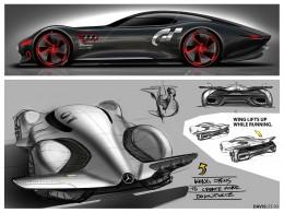 Mercedes Benz Amg Gran Turismo Concept Design Sketches