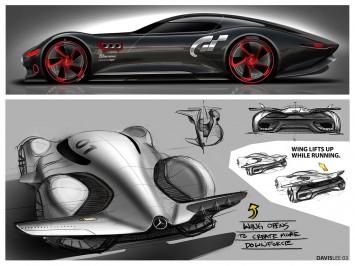 Mercedes Amg Vision Gran Turismo Interior