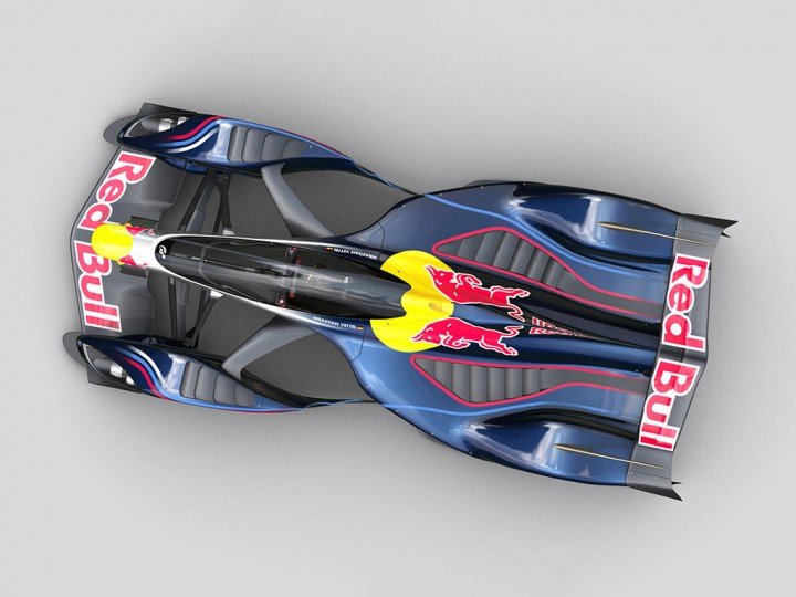 Red Bull X2014 Gran Turismo Concept: new images