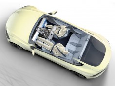 Rinspeed xChangE Concept envisions the interior of future autonomous vehicles