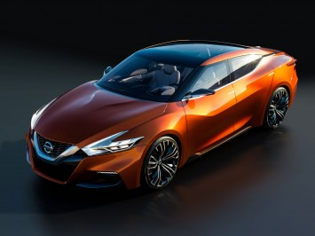 and the Friend-ME concepts, at the 2014 Detroit Motor Show Nissan