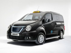 Nissan unveils redesigned NV200 Taxi for London