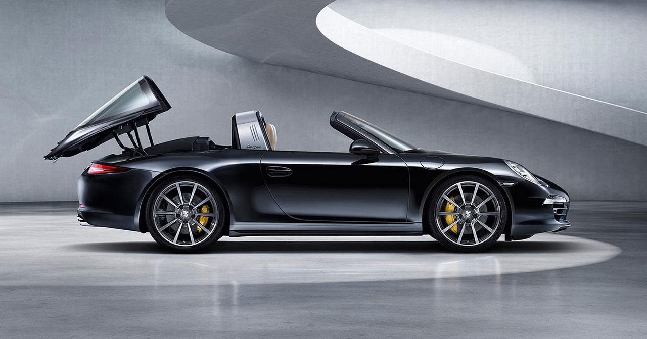 Porsche 911 Targa Car Body Design
