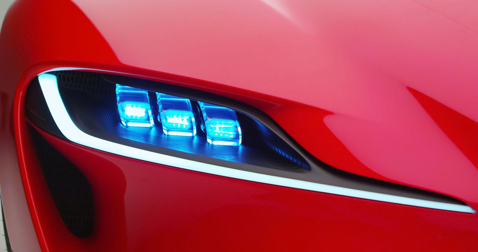 BMW Pickup Truck >> Toyota FT-1 Concept - Headlight - Car Body Design