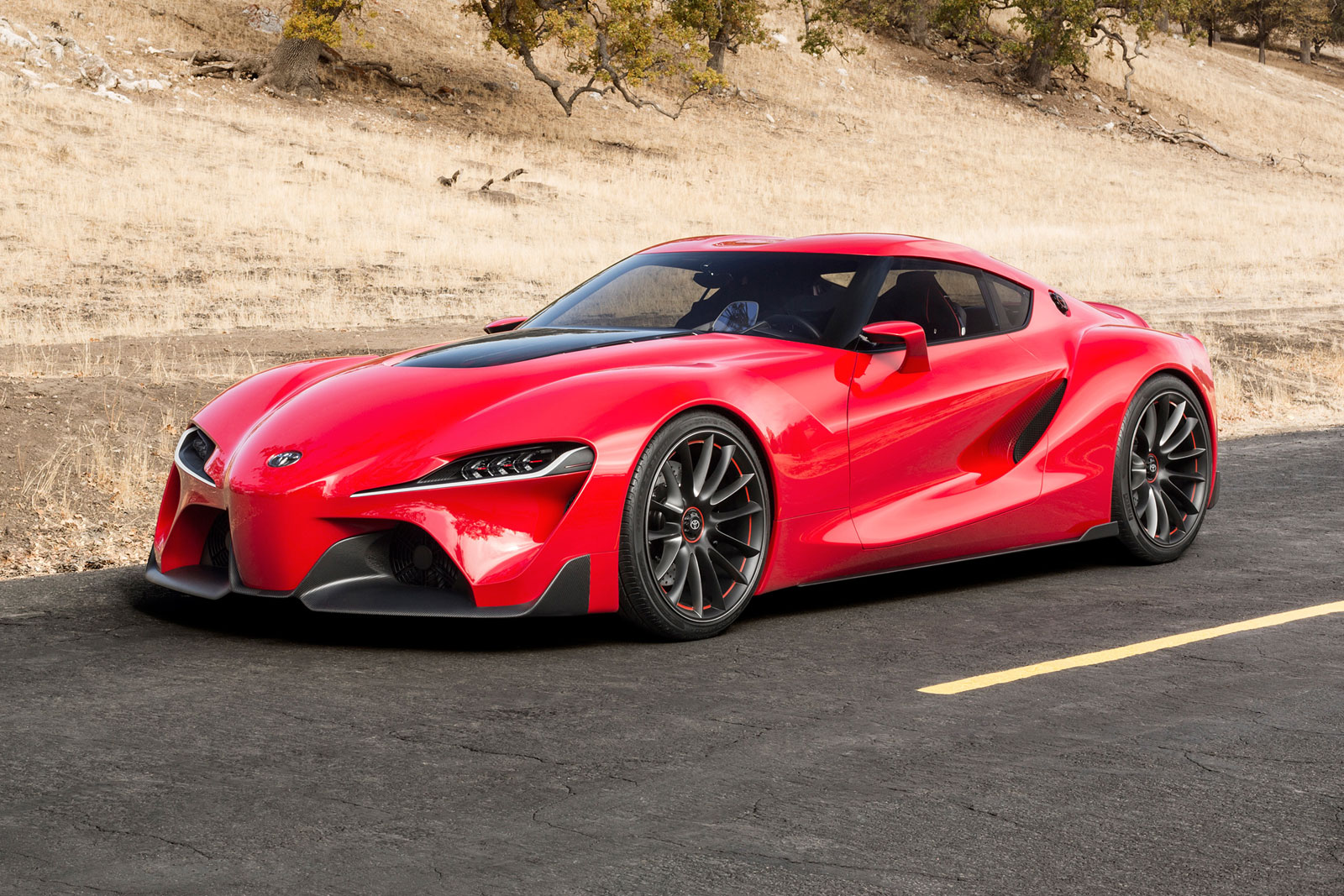 Toyota Ft 1 Concept Car Body Design