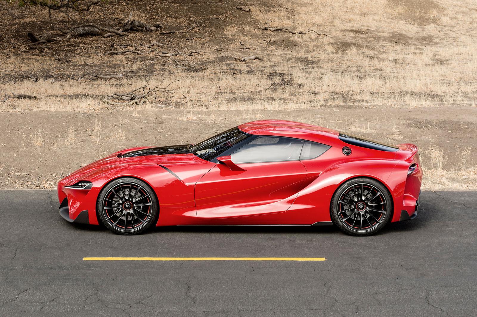 Toyota FT-1 Concept - Car Body Design