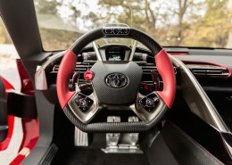 Toyota FT-1 Concept Interior - Cockpit and steering wheel