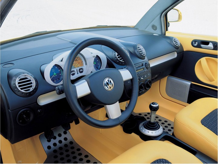 Volkswagen beetle dune concept preview sketches car for New beetle interieur