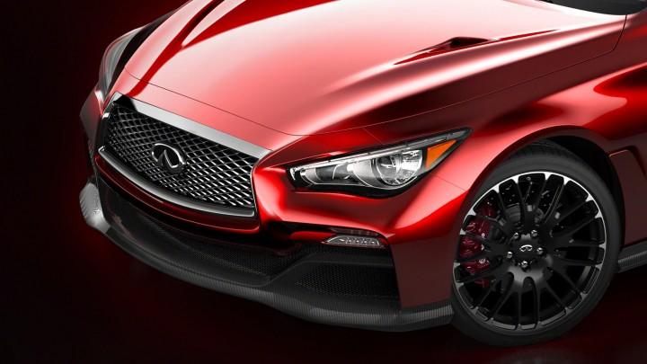 Infiniti Q50 Eau Rouge Concept - Front end detail