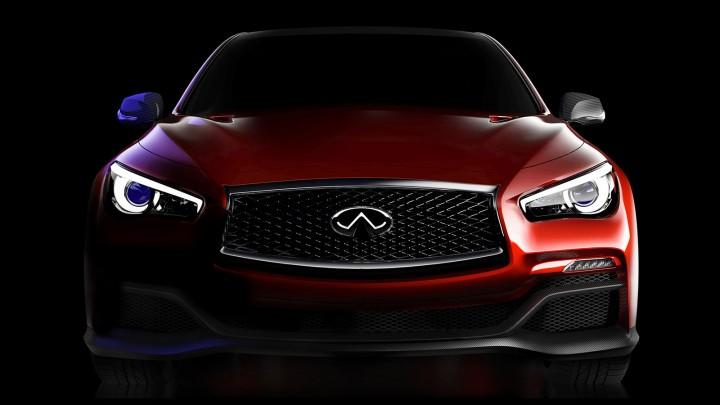 Infiniti Q50 Eau Rouge Concept - Front view