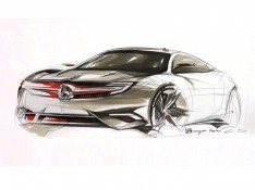 Mercedes-Benz-Concept-Coupe-design-sketch-by-Sangwon-Seok