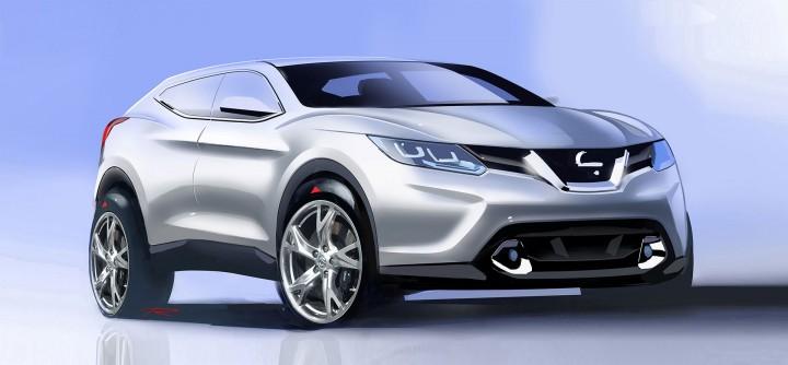 Nissan Qashqai Design Story Car Body Design