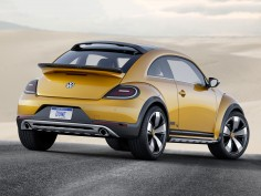 Volkswagen Beetle Dune Concept: the design