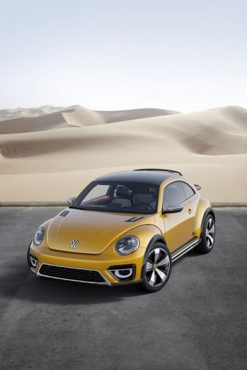 Volkswagen Beetle Dune Concept: the design - Car Body Design