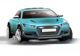 Audi Allroad Shooting Brake Concept Design Sketch by Davide Valpreda