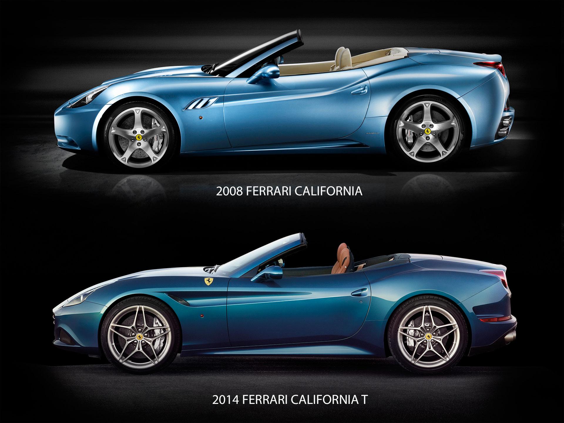Ferrari Side View Drawings 2008 Ferrari California And