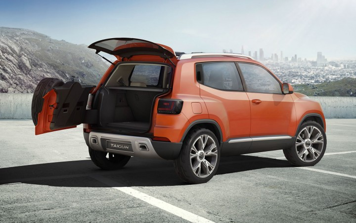 volkswagen unveils evolved taigun suv concept car body. Black Bedroom Furniture Sets. Home Design Ideas