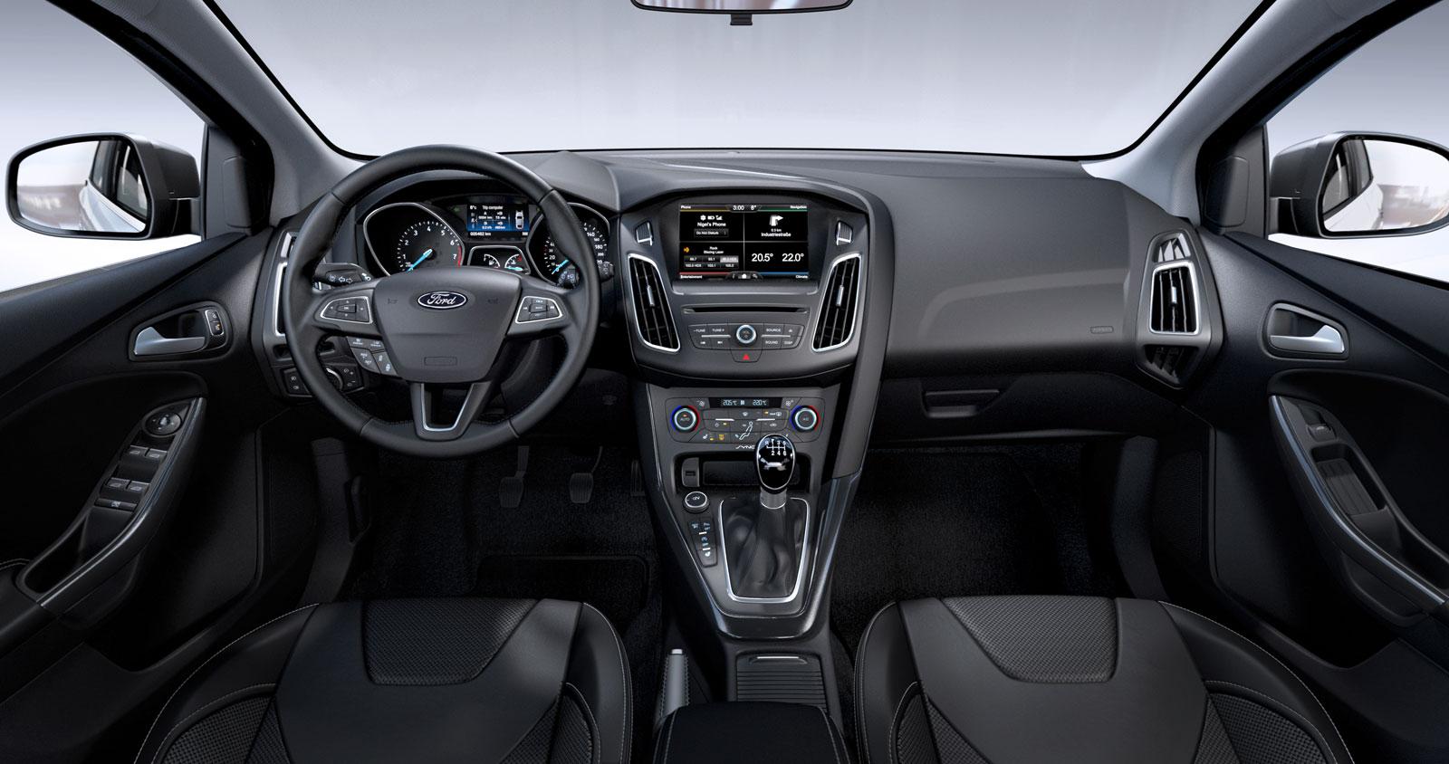 Elegant 2015 Ford Focus Interior Pictures Gallery