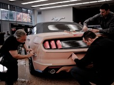 Designing with tape at Ford