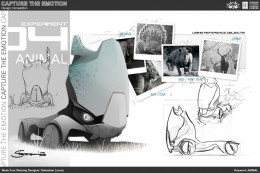 Animal Truck Concept Design Sketch by Sebastian Lorenz