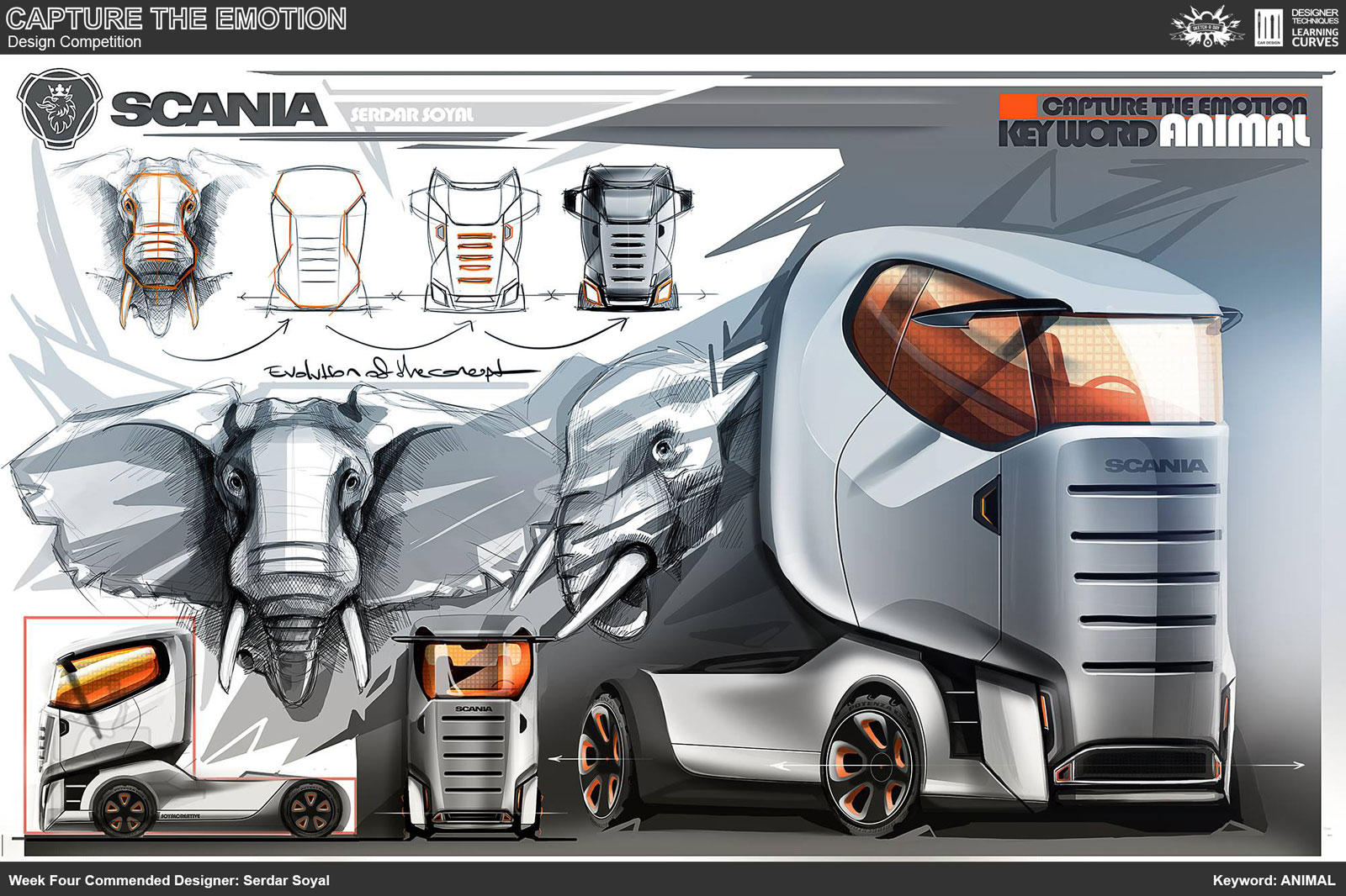 Animal Truck Concept Design Sketch By Serdar Soyal Car