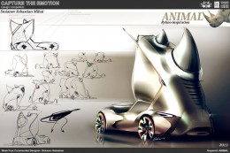 Animal Truck Concept Design Sketch by Stoianov Sebastian