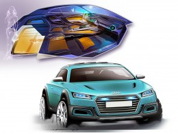 Audi Allroad Shooting Brake Concept Design Sketch Gallery