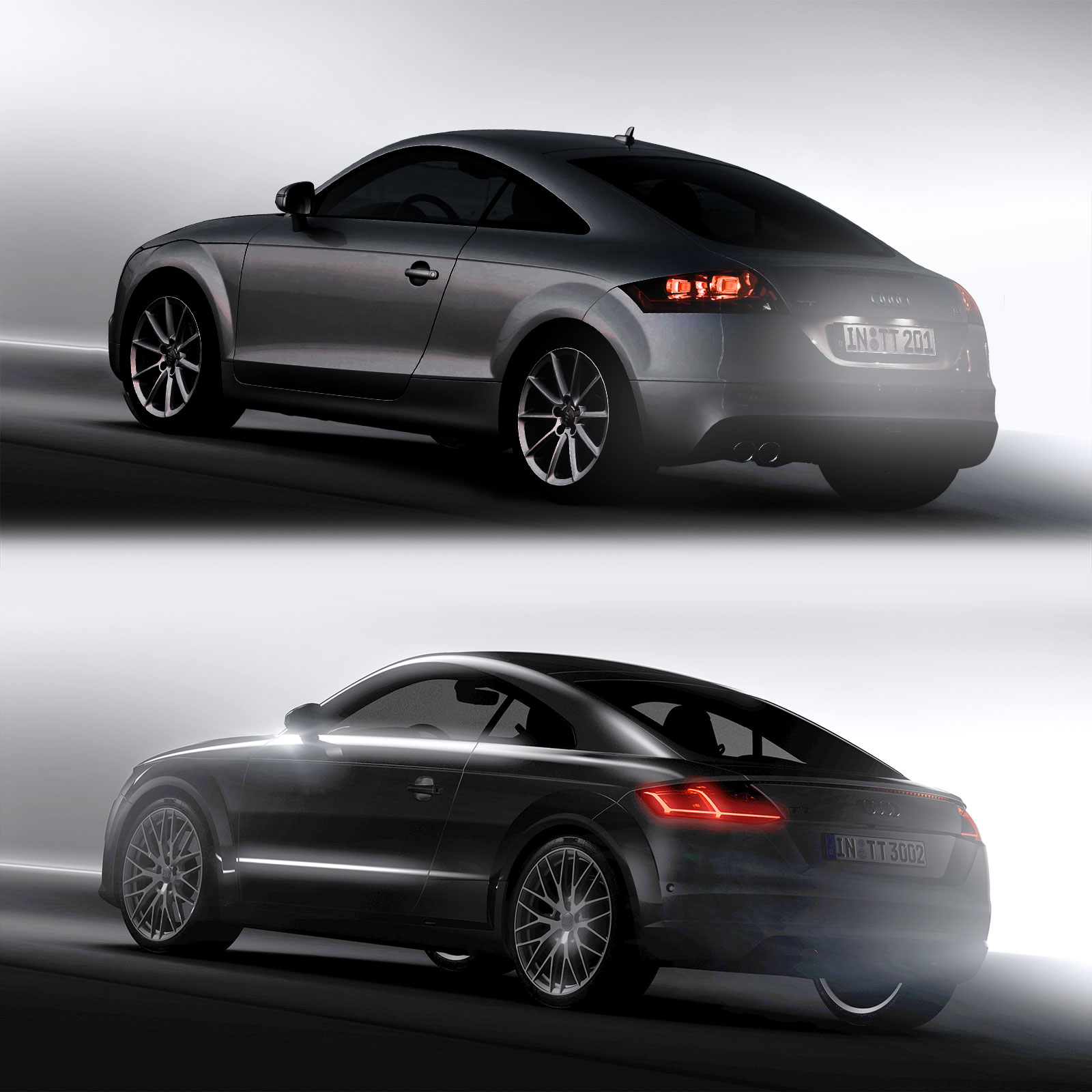Audi TT 2nd And 3rd Generation